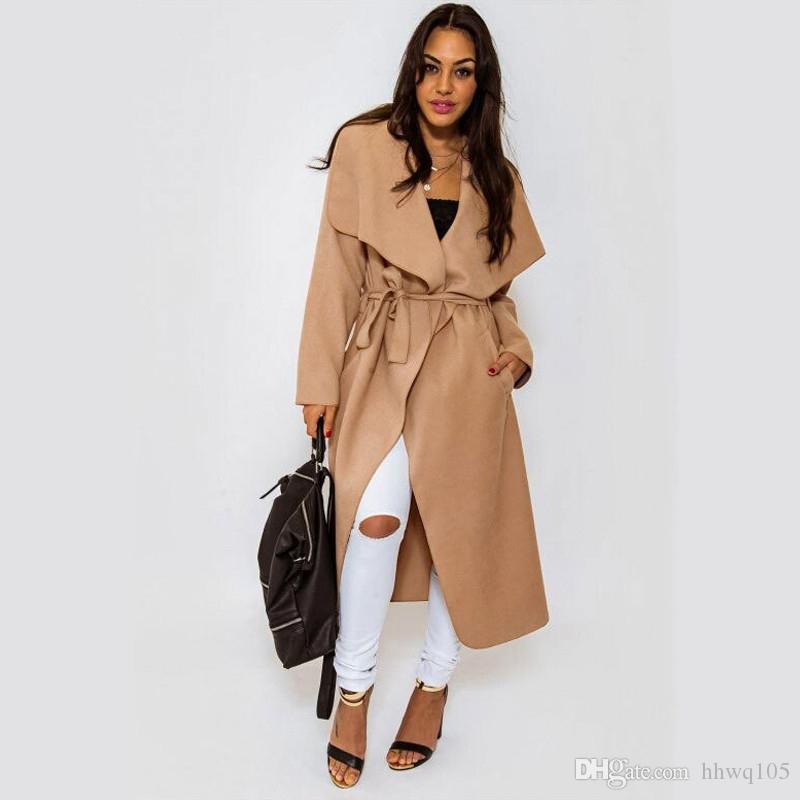 Woolen coat women