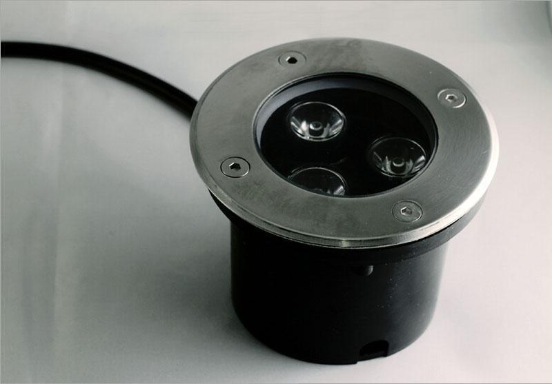 Светодиодные подземный свет торшер IP67 водонепроницаемый 3 Вт 85-265 в светодиодный Открытый сад путь этаж двор лампы пейзаж свет белый rgb