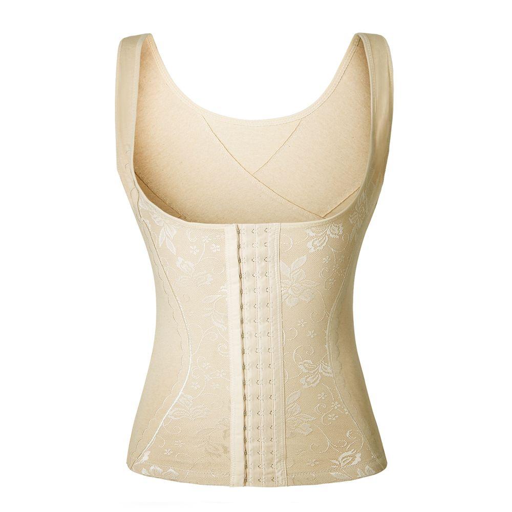 9af99dcdb5 2019 Wholesale 100% Cotton Women Body Shaper Slimming Vest Shaper Tummy  Belt Shapewear Underwear Waist Cincher Corset Trainer Control Slim From  Geraldi
