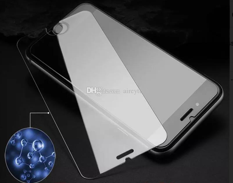 Explosion-proof Screen Protector Guard 9H Tempered Glass Film for iPhone 5 5S 6 6S 7 Plus Samsung Galaxy S6 S7 Edge