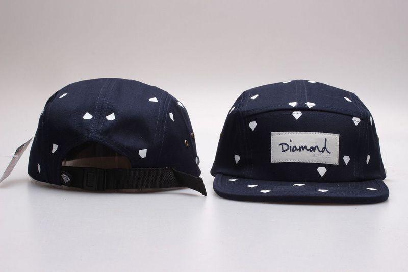2ae079e93f3 2016 Summer Style New Arrival Diamond 5 Panel Cap Hat Classic Strapback Bone  Diamond Five Panel Snapback Gorro Hip Hop Hats For Men   Women Trucker Hats  ...