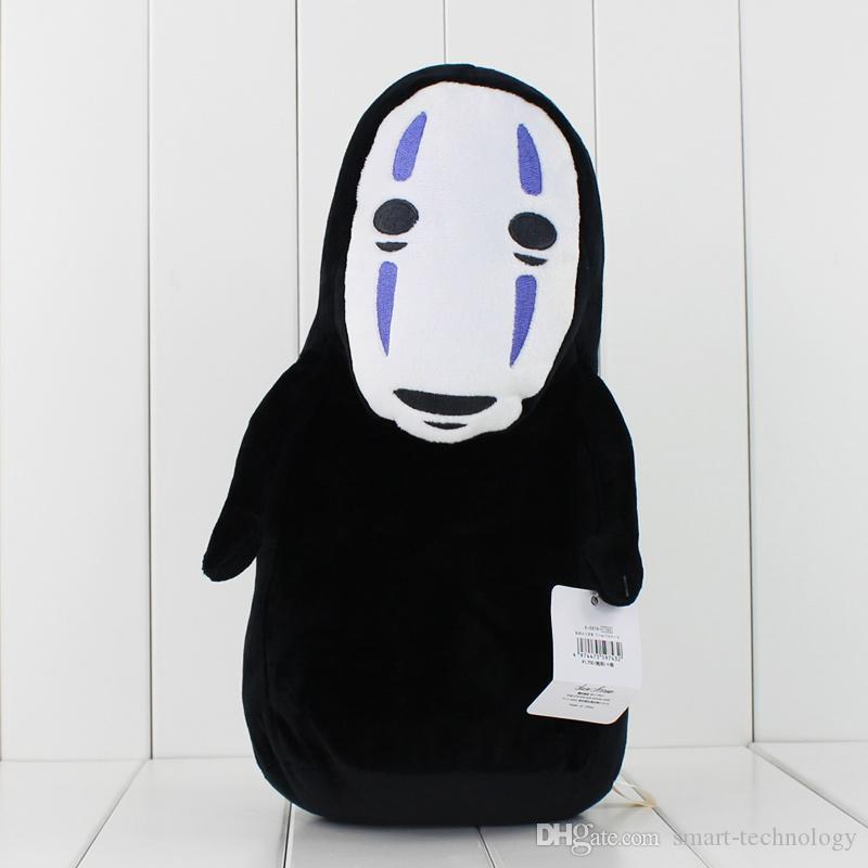 Anime Cartoon Miyazaki Hayao La città incantata No peluche faccia farcito molle bambola animale giocattolo bambini il trasporto libero