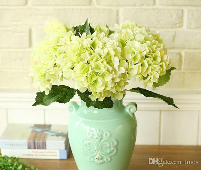 Artificial Silk Hydrangea Flower Big 7.5