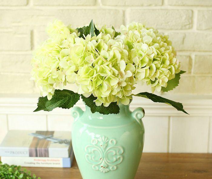 Soie artificielle Hydrangea Big Flower 7.5