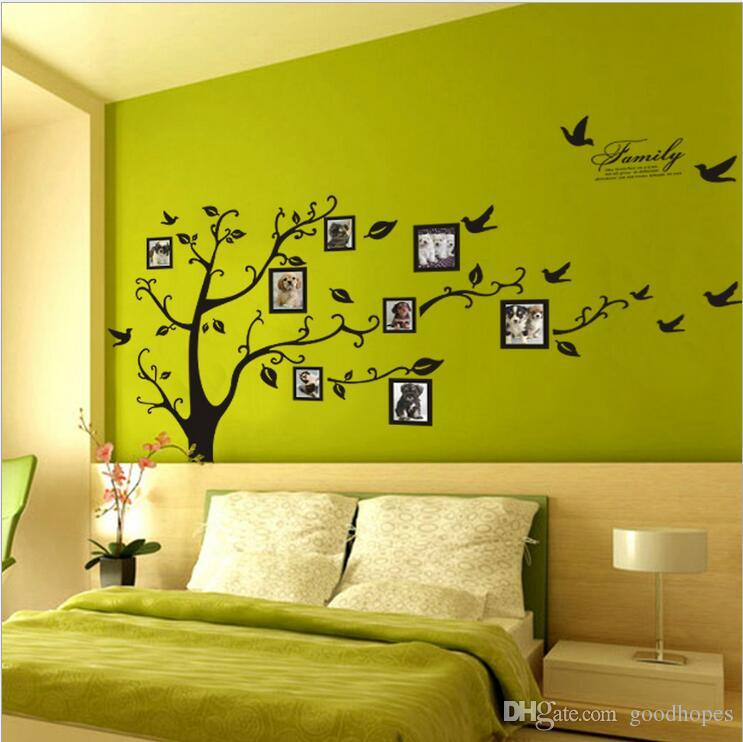 Tree Photo Frame Diy 3d Vinyl Wall Stickers Home Decor Design Living ...