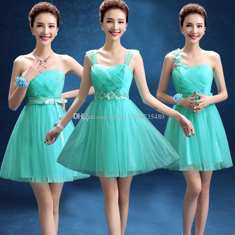 Turquoise Wedding Dresses for Teens