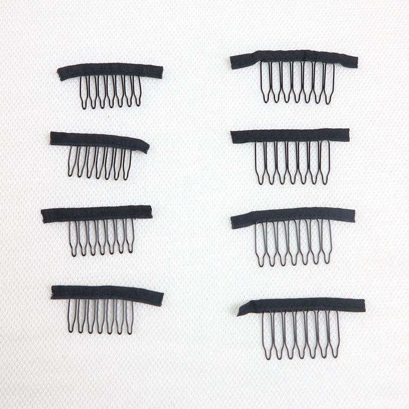 Парик парик клипы 7teeth Комбс клипы для Cap парик и парик делает расчески инструменты выдвижения волос