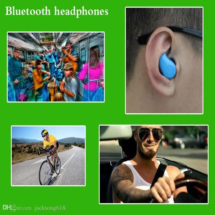 Bluetooth Headset S530 Hands Free Earbuds Mini Auriculares Earphone Wireless Headphones EarPhone Handsfree for cellpone wholesales