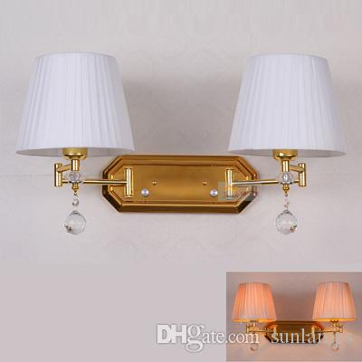 ... Restaurant Lamps Double Arm Hotel Room Wall Light Indoor Home  Industrial Lighting Lamp Vintage Wall Lamp Bedside Sconce From Sunlamps,  $109.11   Dhgate.