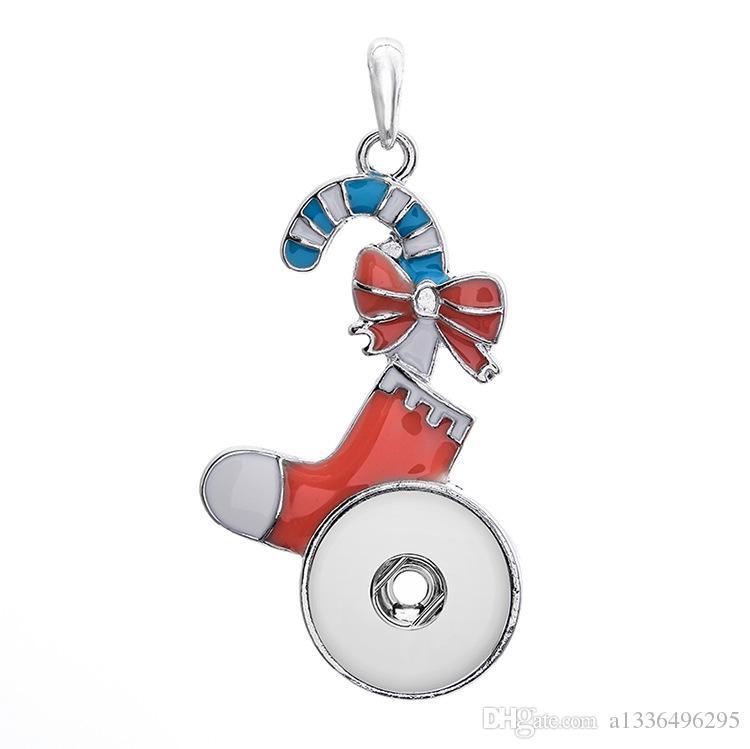 Новый DIY сплава кнопка высокое качество мода кулон ожерелье женская Оптовая коллокация партии Рождественский подарок ювелирные стразы 13