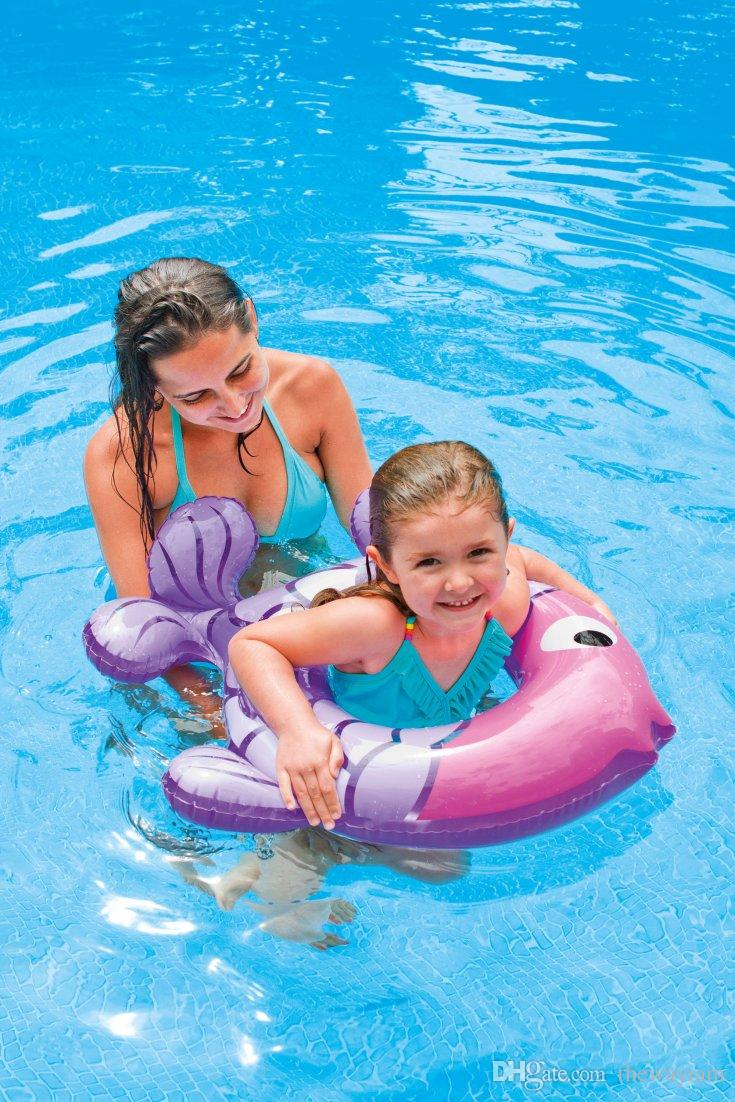 Product details of new inflatable floating swim ring kids children toy - Tropical Fish Baby Animal Floating Ring Child Swim Ring Life Buoy Swimming Laps Spare Tire Fish