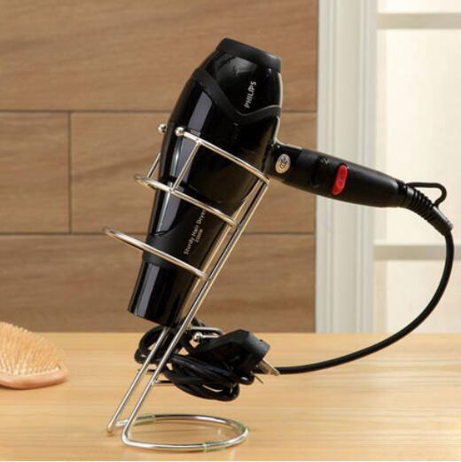 Hair Dryer Holder Stand Organizer Rack Deck Mount Spiral Blow