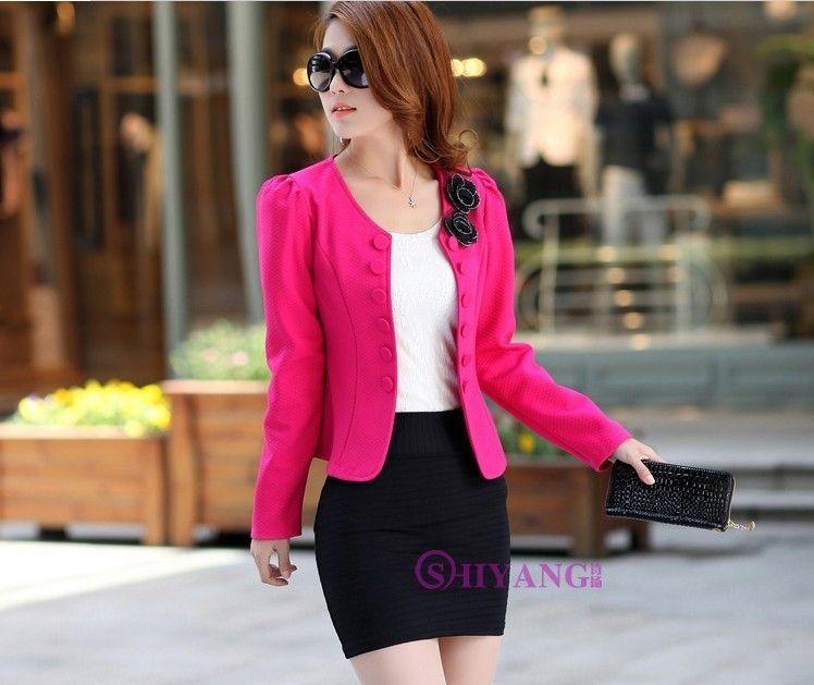 Nova primavera outono mulheres jaqueta casaco de moda jaquetas básicas blaser feminino magro ternos curtos mulheres casacos