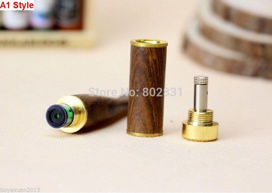 2 Стиль Ebony Вуд трубы сигареты двойной фильтрации Вуд металла трубы мундштук Вуд курительные трубки!