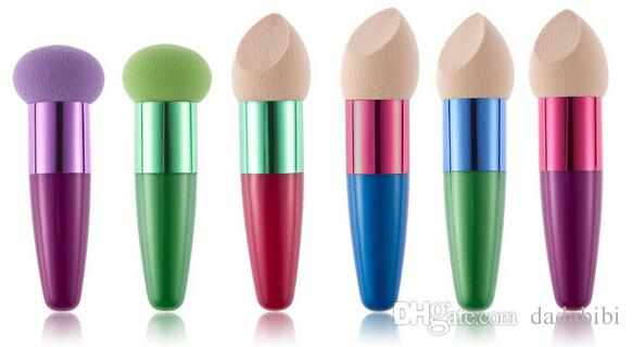 A NEW ARRIVAL HUAMIANLI WET AND DRY liquid foundation puff SPONGE PUFF LONG-LASTING EASY TO CLEAN