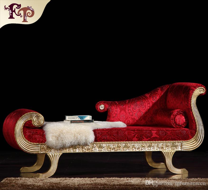 Compre Rococó Styl Chaise Lounge Muebles Clásicos Franceses, Muebles ...