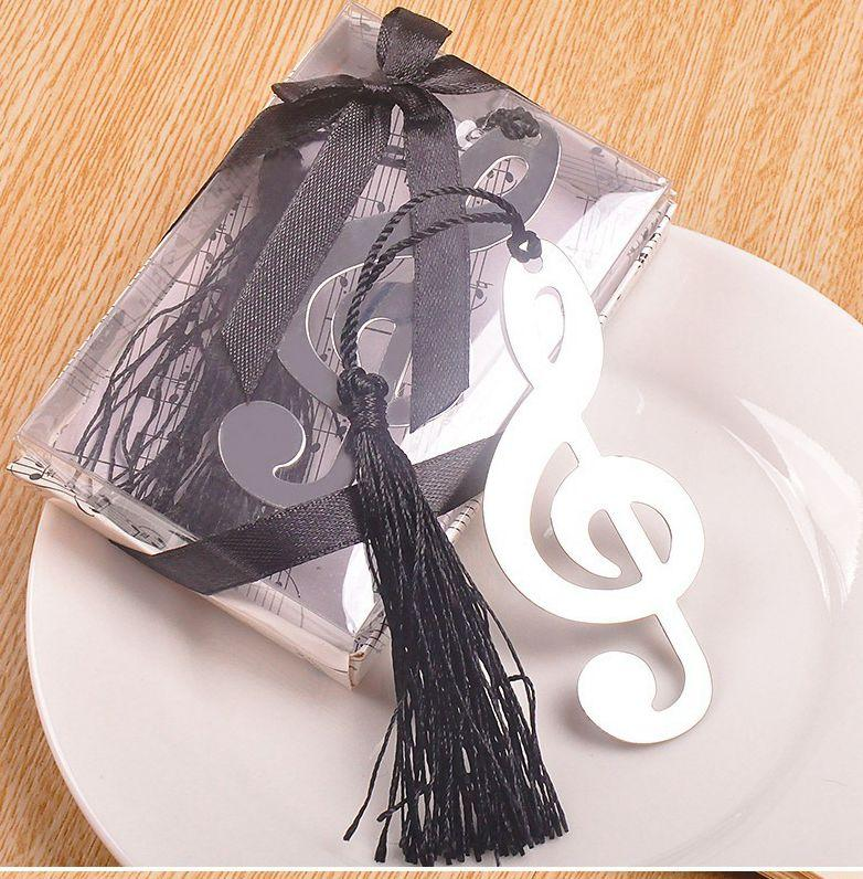 Novelty Lovely Music Note Bookmark Office Supplies Bookmarks Pad Note Stationery Gift