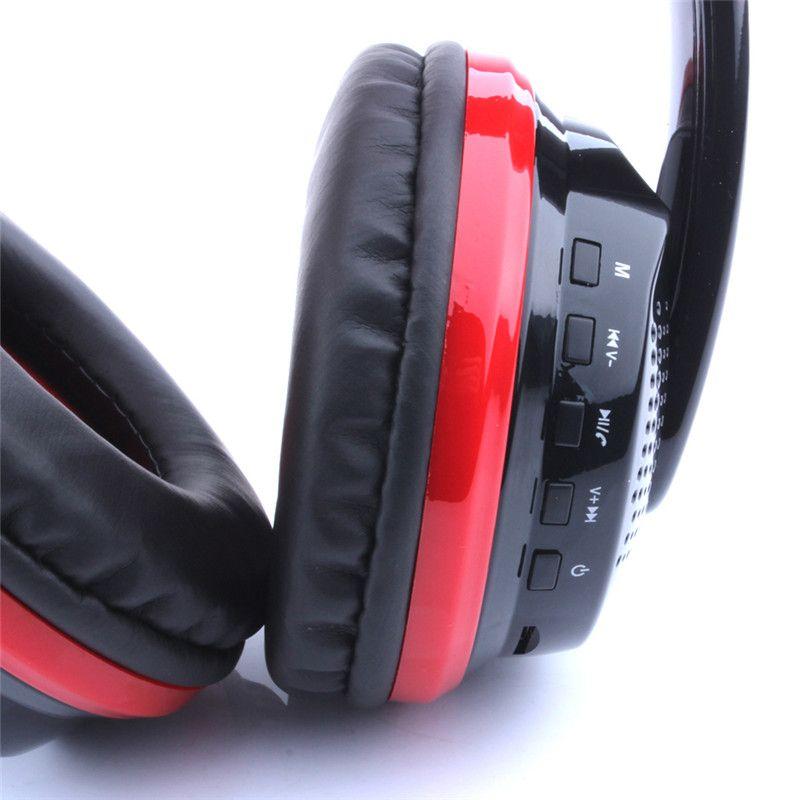 New Style Stereo Bluetooth Headset OVLING MX666 Mic 3.5mm Wired 40MM Neodymium Stereo Speaker Earphone Headphones 36-EM