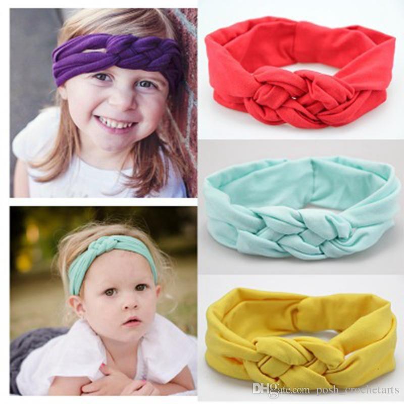 Sailor Knot Headbands Knotted Baby Headband Infants Turban Toddlers Turban  Braided Headband Bandeau Hairbands Head Wraps Cute Girl Hair Accessories  Bows ... e97a3fc825f