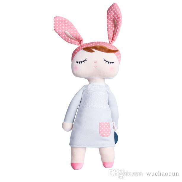 30 cm angela schöne stofftuch metoo kaninchen puppe weihnachten mädchen kinder geschenk kinder schwein plüsch rilakkuma toys s15 beanie boos große bär
