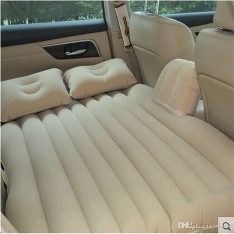 New Car Back Seat Cover Car Air Mattress Travel Bed Inflatable