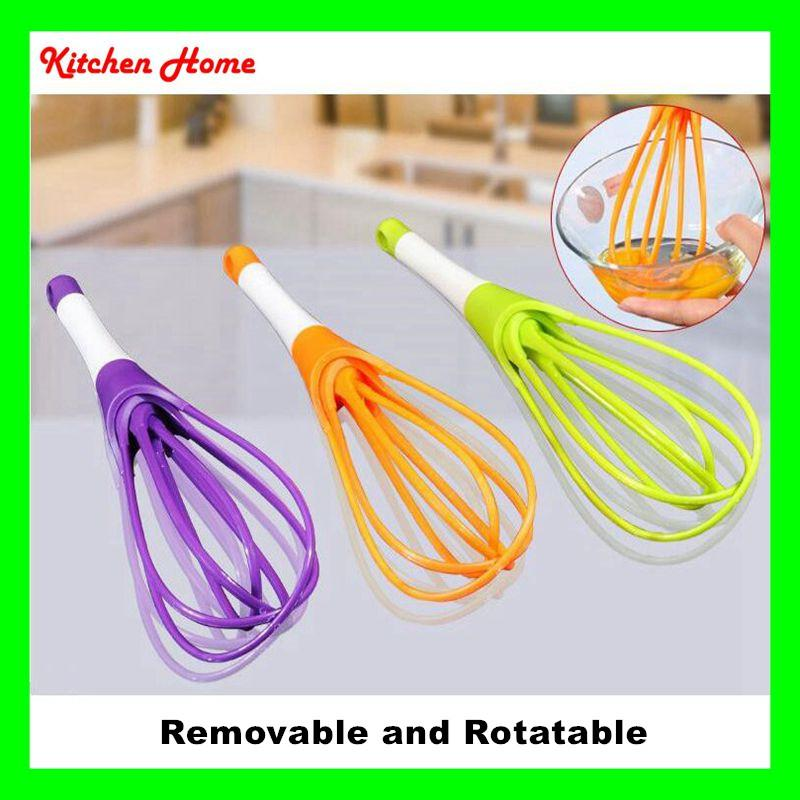 Rotatable Egg Whisk With 4 Lines Hand Kitchen Egg Stiring Beater Tools Food  Grade PP Material Egg Whisk Egg Beater Egg Tools Online With $2.36/Piece On  ...