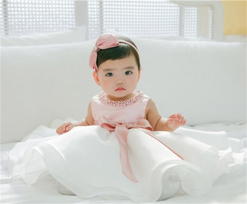 2018 Wholesale New Princess Baby Boutique Dress With Beading Ball ...