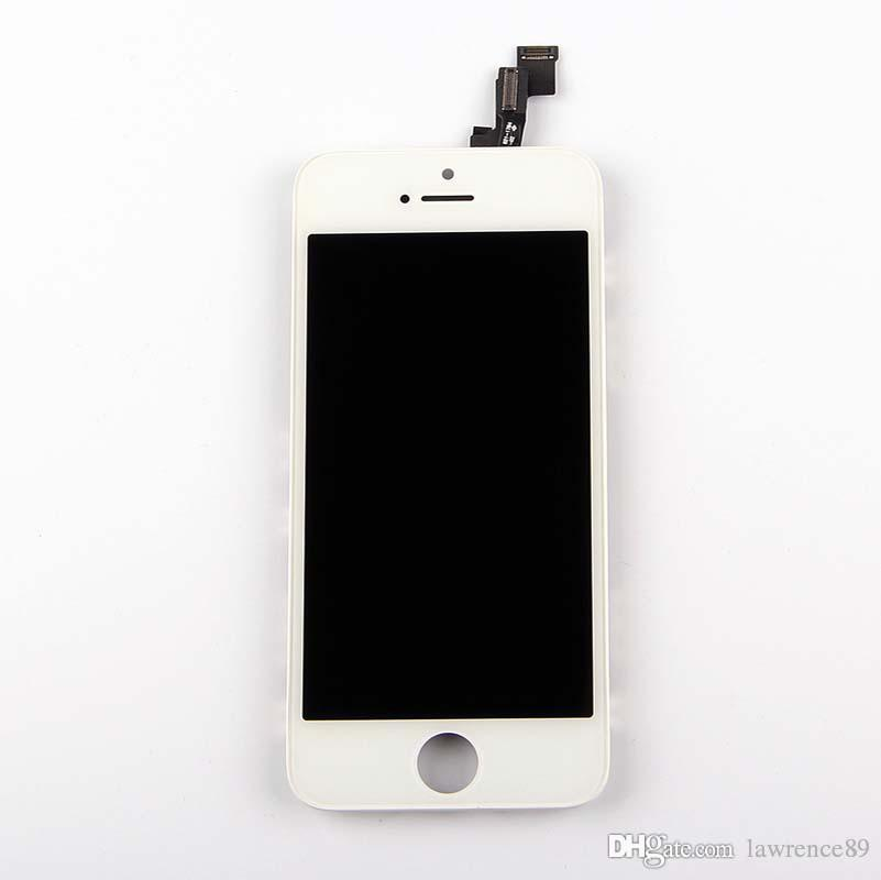 Quality iPhone 5g/ 5s /5c/ 5SE LCD Display Touch Screen Digitizer full Assembly & Free DHL NO dead pixels
