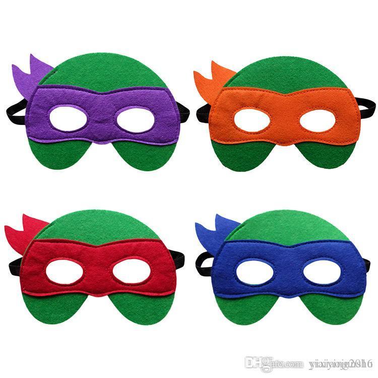 Kids Superhero Mask Cosplay Halloween Mask Halloween Half Masks ...