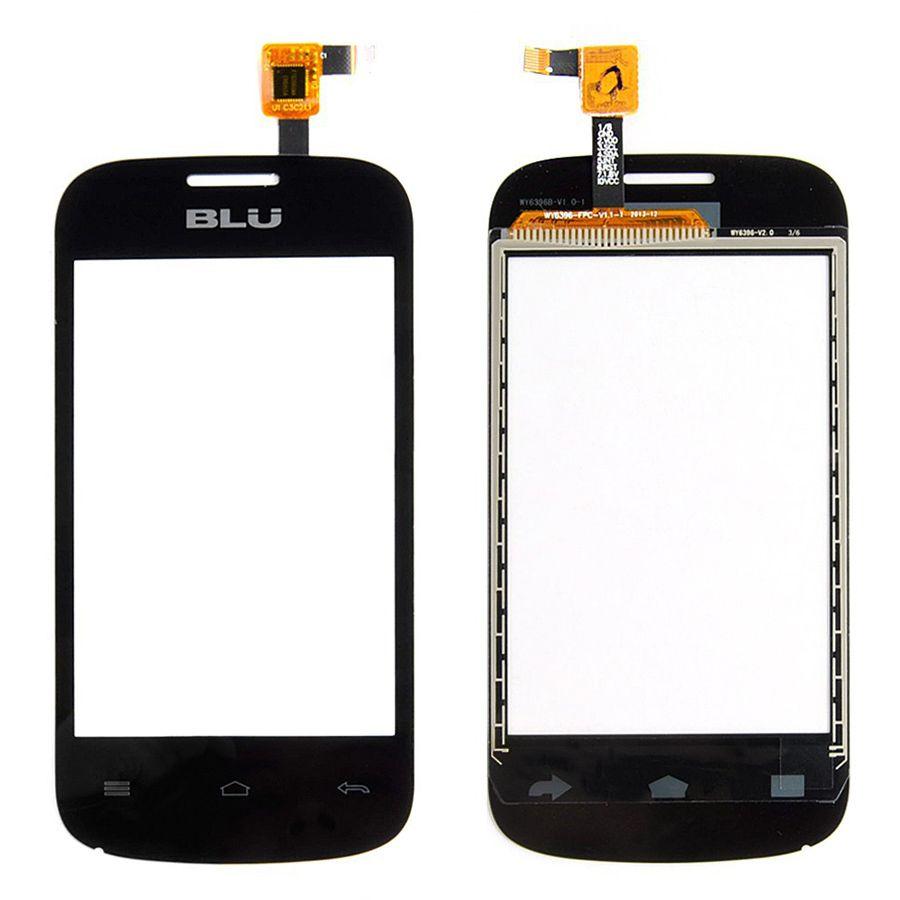 High Quality Black Touch Screen For Blu Dash M 5.0'' Touch Pop Digitizer Touch Panel Sensor Glass Len