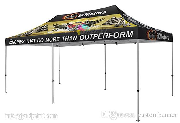 3X6m Custom Print Outdoor Advertising Folding Popup Canopy /Custom Printed 10X20FT Trade Show Tent Marquee / Tent 20X10ft Tent Marquee Online with ...  sc 1 st  DHgate.com & 3X6m Custom Print Outdoor Advertising Folding Popup Canopy /Custom ...