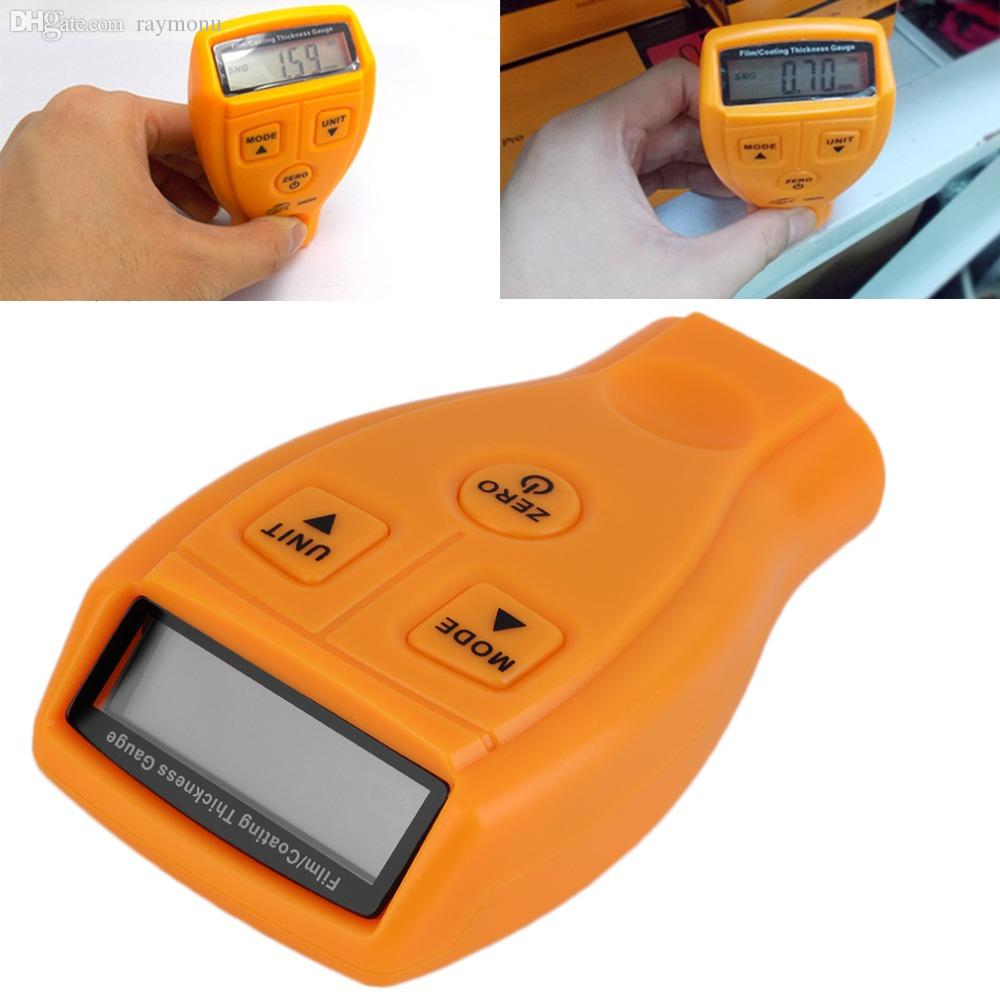 Al por mayor-2016 NUEVA caliente en todo el mundo Digital Automotive Coating Ultrasonic Paint Iron Thickness Gauge Meter Tool