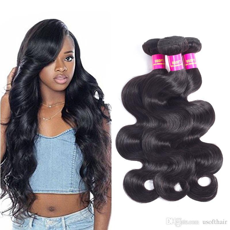 Brazilian Virgin Human Hair Weave 3 Bundles Deal Brazilian Body Wave