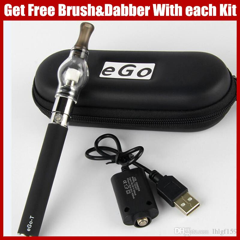 Dab Pens Ego Vaporizer Dry Herb Ecigarette Glass Globe Herbal Vaporizers Ego  T Wax Vape Pen 650mah 900mah 1100mah Ego Ecig Batteries Vaper Vape  Cigarette ...
