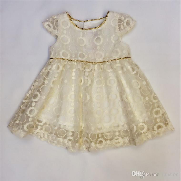 Großhandel Mädchen Babykleid Spitze Kleider Für Reizendes Mädchen A ...