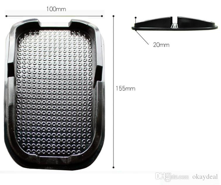 car Anti Slip pad PU gel Mobile Phone Shelf Non slip Mat For GPS/IPhone/ Cell Phone Holder stand