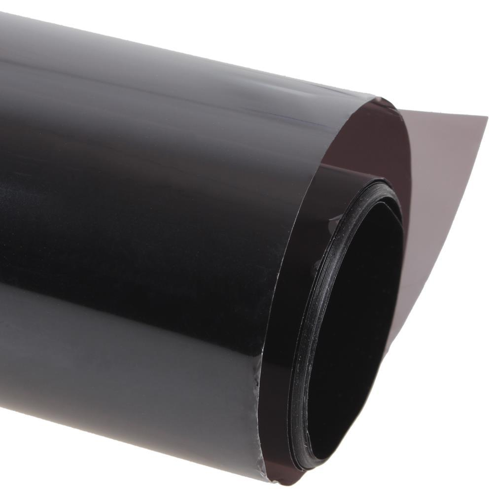 Wholesale- 50* 300cm Black Window Tint Film Glass 25% Roll 1 PLY Auto House  Commercial UV Insulation Car Tint Film for Side Window