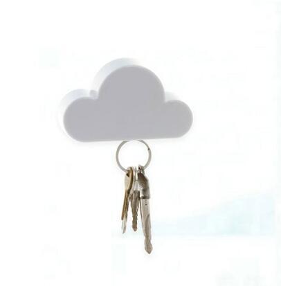 Yeni Gelmesi Yaratıcı Ev Raflar duvar anahtarlık anahtar Bulut Şekli Manyetik Mıknatıslar Anahtar Tutucu duvar
