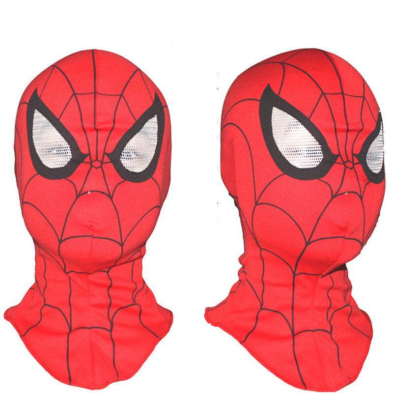 Uper Cool Spiderman Partido Cosplay Máscaras Cabeça Cheia de Rosto Máscaras de Halloween