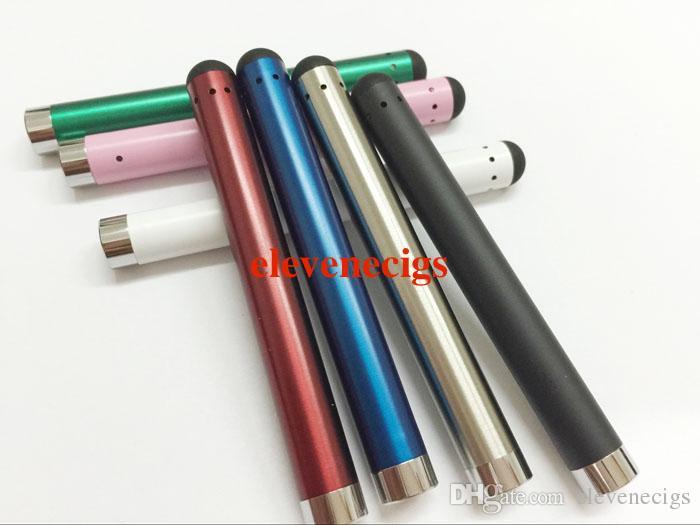 7 Cores mini ce3 bateria 510 fio fino bud toque o estilo caneta caneta cartucho de óleo vape bateria eletrônico cigarros óleo de fumar