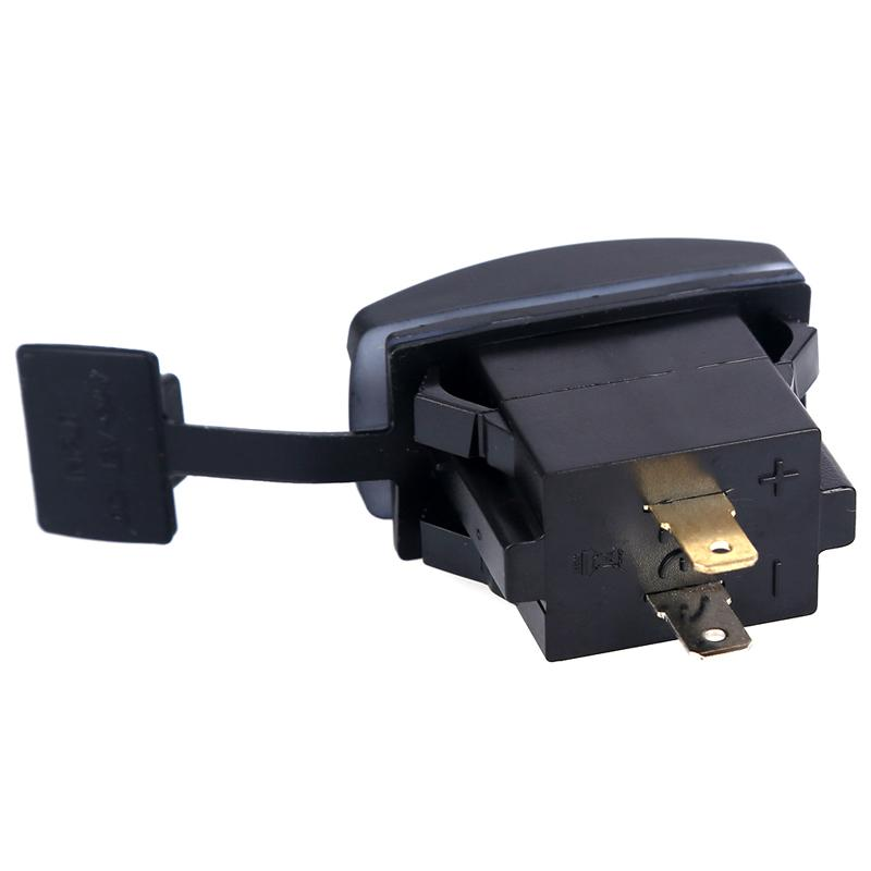 Mini Auto Charger Adapter 3.1A Universal Car Motor Bus Truck Boat Dual USB Charger for GPS Mobile Phone Tablet Computer Camera