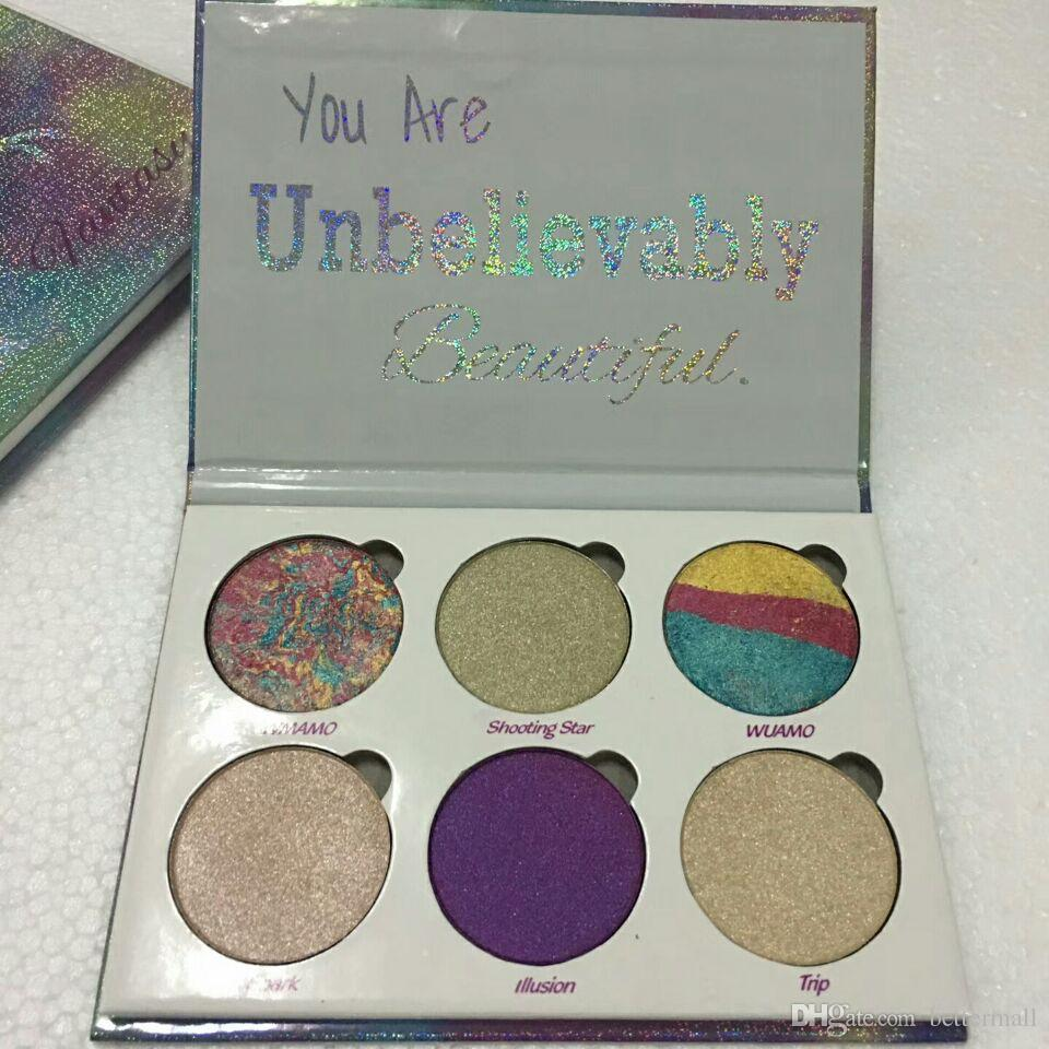 Love Luxe Beauty Fantasy Palette You Are Unbelievably Beautiful highlighter Palette Eyeshadow
