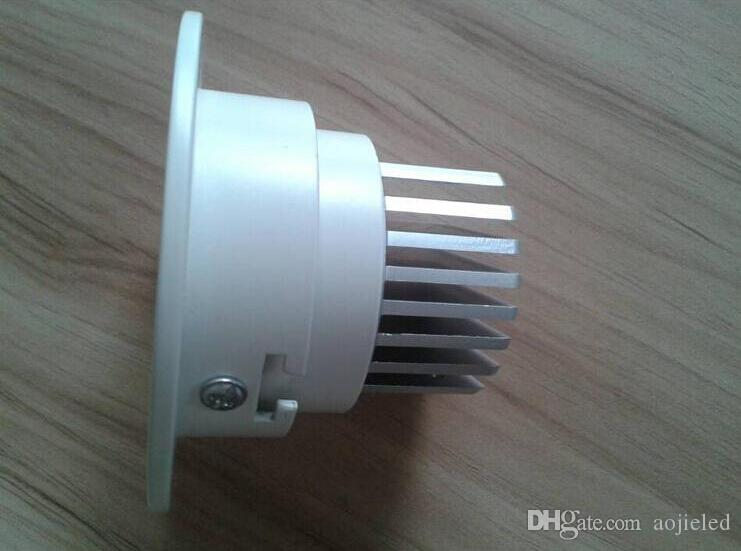 Dimmable LED COB Ceiling Down Light Dowlight 10W 15W Warm /Pure/ Cool White Recessed LED Lamp With led driver