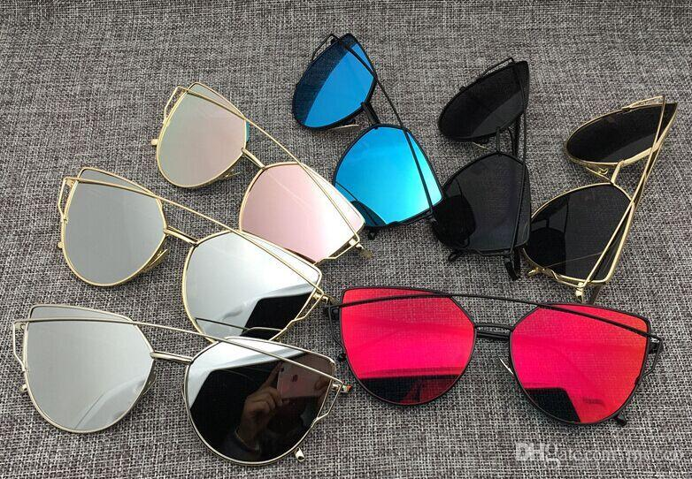117d90af47 Summer Women Cheap Sunglasses 400Uv Protection Factory Price 7Colour ...