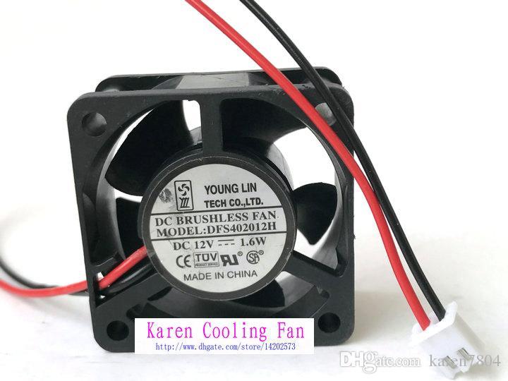 Neue Original YongLin DFS402012H 12 V 1,6 Watt 40 * 40 * 20 MM 4 cm stumm Power Lüfter