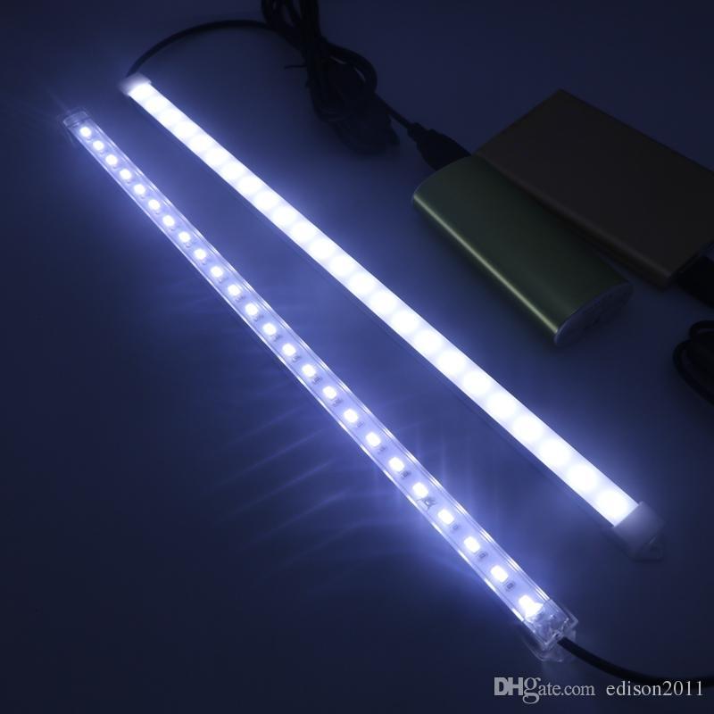 SMD5630 de alto brillo 24leds tubo rígido duro de la luz de la tira Blanco fresco Blanco cálido Blanco puro Envío libre
