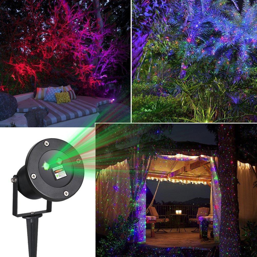 star projector homecube outdoor star laser light solar garden lights tree lights laser christmas light holiday decoration from ok360
