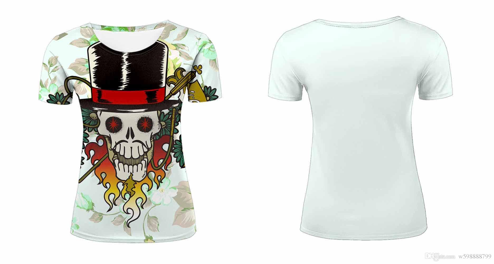 Women summer t shirts kinds of beautiful flowers skull paint women summer t shirts kinds of beautiful flowers skull paint graffiti lotus colorful cool abstract style prints short sleeve tees top m422n design and buy t izmirmasajfo