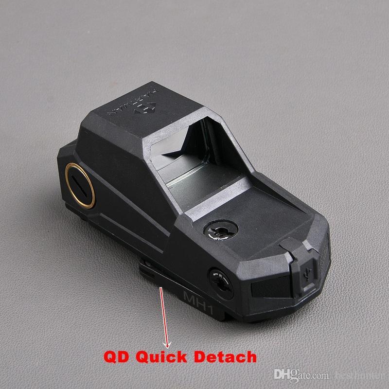 Hartman MH1 Tactical Red Dot Zielfernrohr Reflex Sight Holographic Red Dot Gewehr Anblick Mit QD schnell Detach Mount Jagd