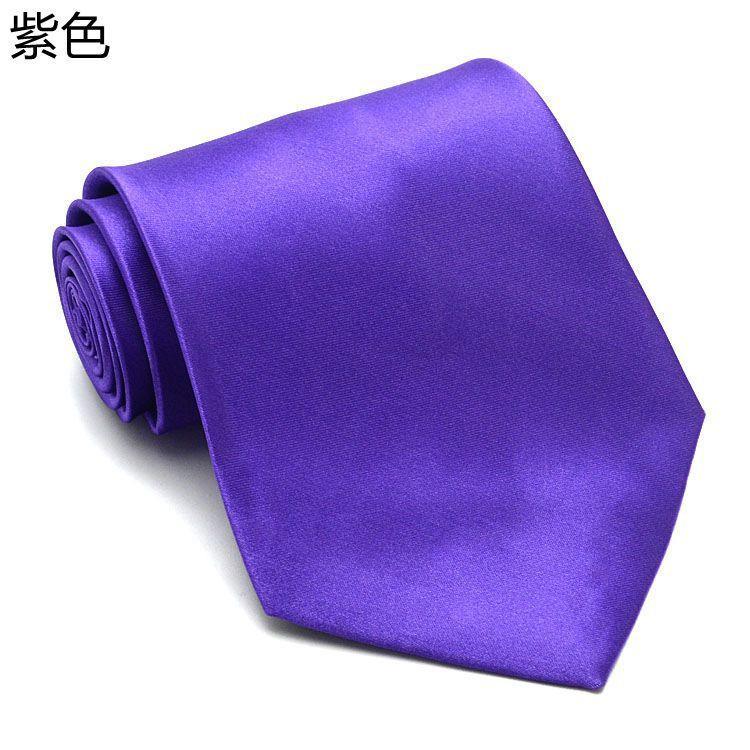2016 HOT Solid cravatta i 145 * 10cm cravatta da uomo collo versione stretta NeckTie tempo libero freccia cravatta magro cravatte gratuito FedEx TNT